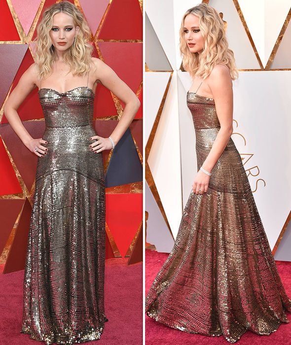 Oscars-2018-Jennifer-Lawrence-2018-dress-seats-wine-movies-live-pictures-1255918